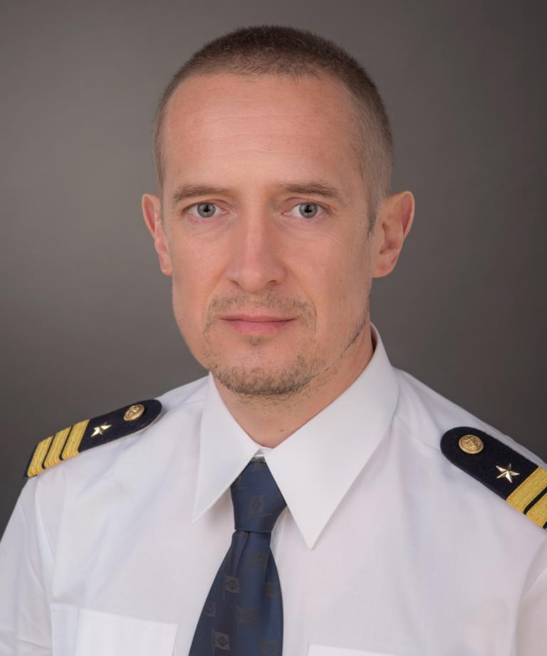 Olivier Zimmermann seafarer Chief Officer Container Ship