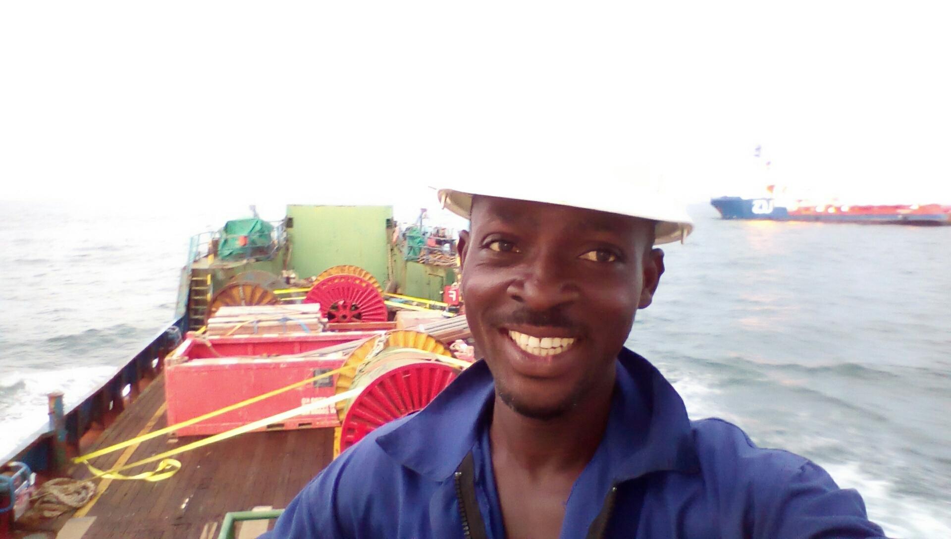 Seth Tamakloe seafarer Able Seaman Tug Boat