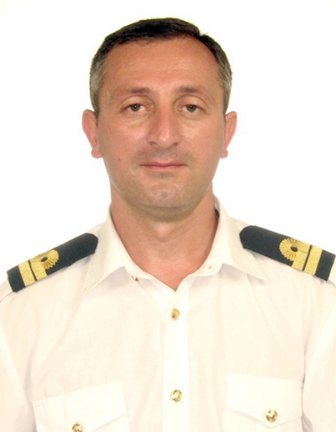 Giorgi Beridze seafarer Second Officer Oil products tanker