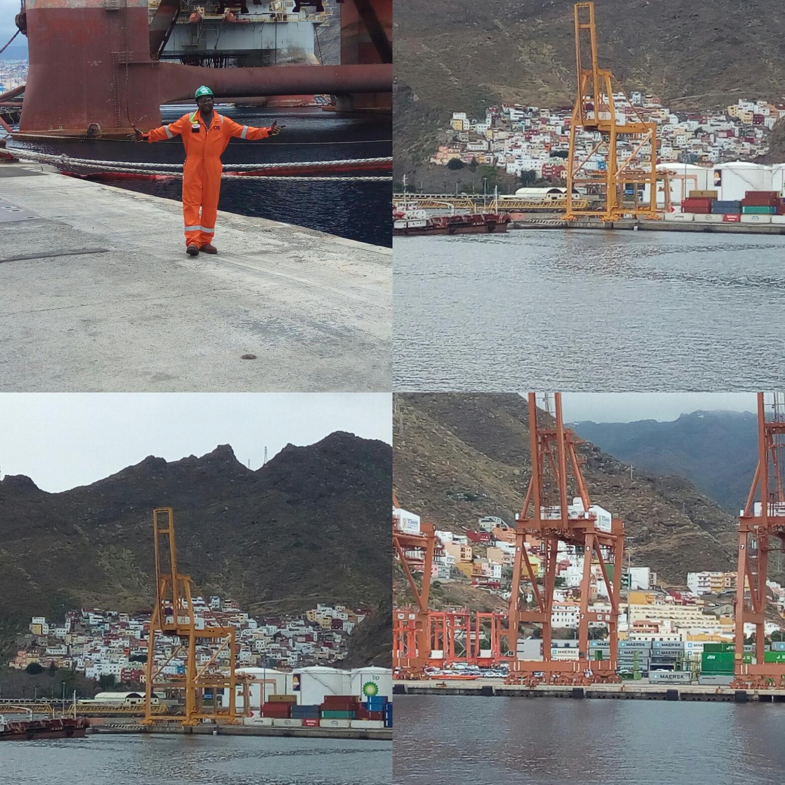 Oladimeji Tijani seafarer Crane Operator Offshore Support Vessel