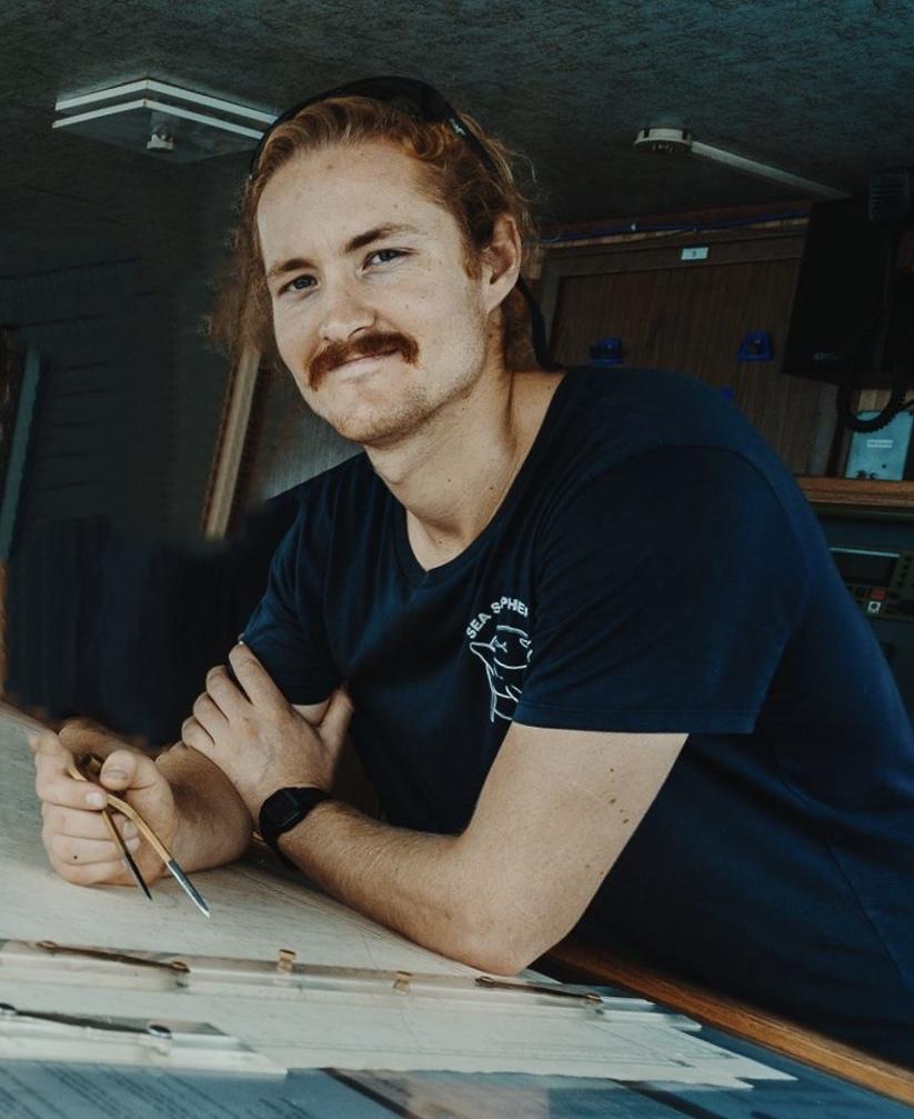 Anteo Charles Brown Broadfield seafarer Third Officer