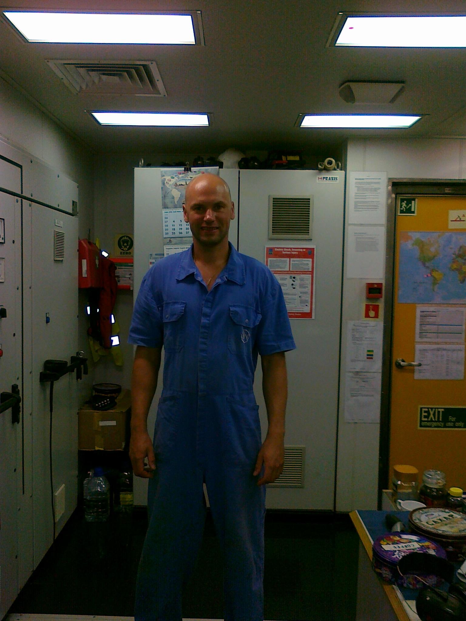 Denis Bekasov seafarer Chief Engineer Multi-Purpose Vessel
